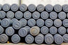 Pile of barrels Royalty Free Stock Photo