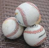 A pile of baseballs Stock Photography