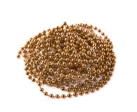 Pile of beads garland thread isolated Stock Photos