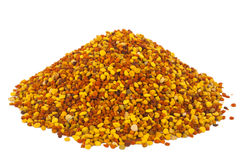 Pile of bee pollen, ambrosia Royalty Free Stock Photography