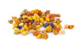 Pile of bee pollen, ambrosia Royalty Free Stock Image