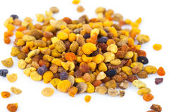 Pile of bee pollen, ambrosia Royalty Free Stock Images