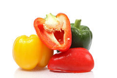 Pile of  bell peppers Stock Image