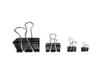 Pile of Binder Clips for Business or Education Royalty Free Stock Photography