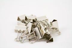 Pile of binders Royalty Free Stock Image