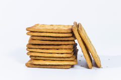 A pile of biscuit Stock Image
