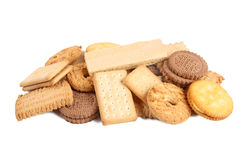 A pile of biscuits Royalty Free Stock Image