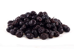 Pile of black olives Royalty Free Stock Photo