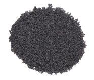 Pile of black sesame seeds Royalty Free Stock Photo