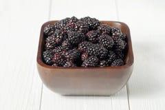 Pile of blackberries Stock Photos
