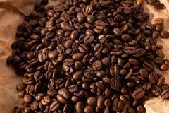 Pile blacking coffee Stock Image
