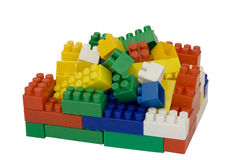Pile of blocks Stock Photos