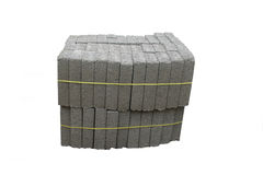 Pile of blocks for building Stock Image