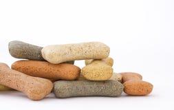 Pile of bone shaped dog treats Stock Image