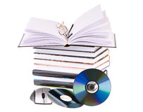Pile book Stock Image