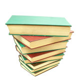 Pile of Books 03. A pile of books stock image