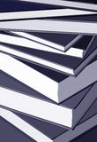 Pile of books. Vector illustration close up on books Stock Photography