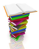 Pile of books Stock Photo