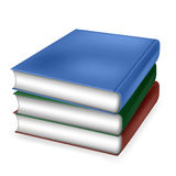 Pile of Books. Illustration of a pile of books Stock Illustration