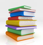 Pile of Books Royalty Free Stock Photos