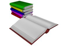Pile of books. Stock Photography