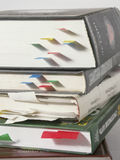 Pile of books Stock Photography