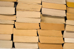 Pile of books. Pile of softcover books Royalty Free Stock Image