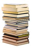 Pile of Books. Isolated pile of books Stock Photo