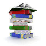 Pile of books. Royalty Free Stock Photography