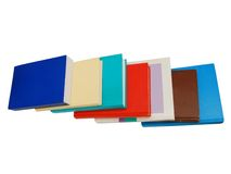 Pile of books isolated Royalty Free Stock Image