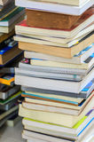 Pile of books. Pile of the old books royalty free stock image