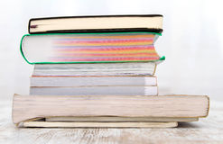 A pile of books Stock Photo
