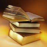 Pile of Books - Education - Reading Stock Image