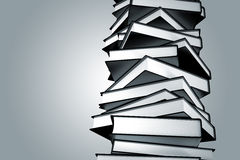 Pile of books. Stock Photo