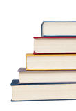 Pile of books stacked ladder Royalty Free Stock Image