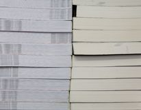 Pile books texture Stock Photos