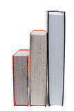Pile of the books three Stock Image