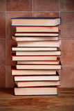 Pile of books Royalty Free Stock Images