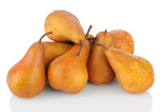Pile of Bosc  Pears Stock Photos