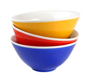 Pile of bowls Royalty Free Stock Images