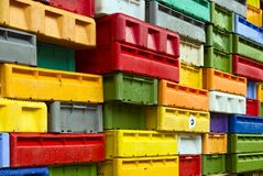 Pile of boxes Royalty Free Stock Photography