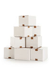 Pile of boxes Stock Photography