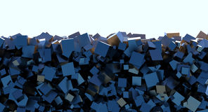Pile of boxes Royalty Free Stock Images