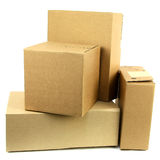 Pile of boxes Iii royalty free stock photos