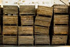 Pile of boxes Stock Photos