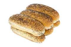 Pile of bread Royalty Free Stock Photo
