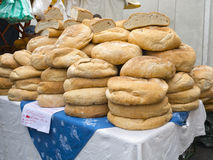 Pile of bread Royalty Free Stock Photography