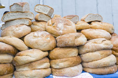 Pile of bread Royalty Free Stock Photos