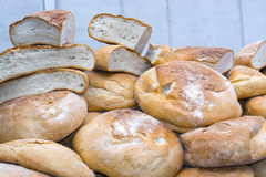 Pile of bread Stock Photography
