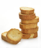 Pile Of Bread Rusks Stock Photo
